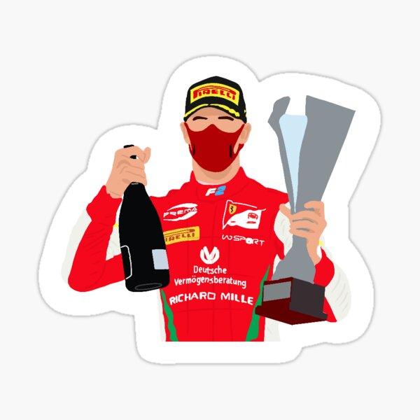 Formula 2 driver Mick Schumacher Sticker