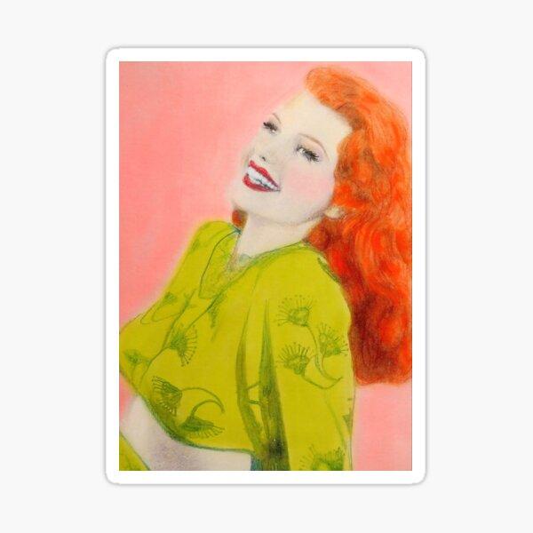 Rita Hayworth Sticker