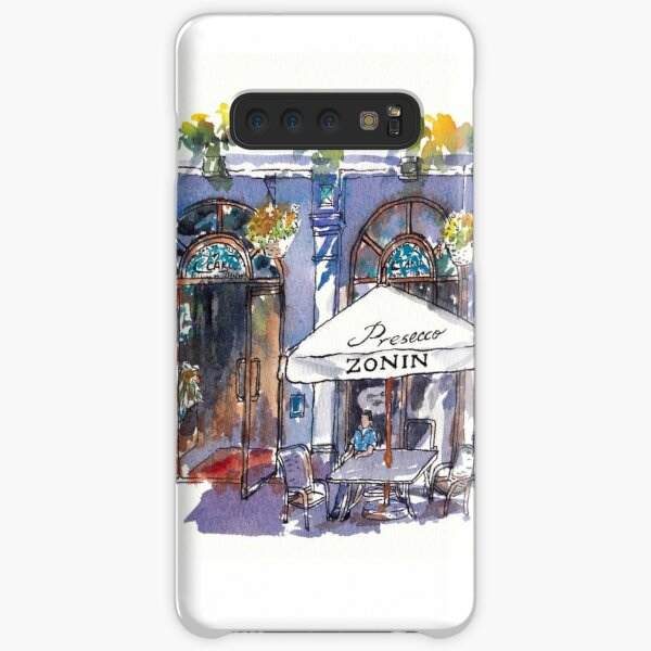 Sunny Afternoon at an Outdoor Cafe Samsung Galaxy Snap Case