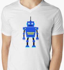 Robot  Men's V-Neck T-Shirt