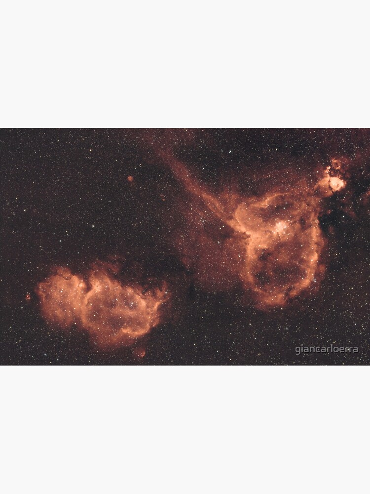 Heart & Soul Nebulae (IC1805 & IC1848) by giancarloerra