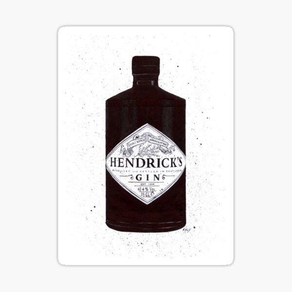 Hendricks Gin Stickers Redbubble