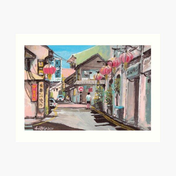 Melaka Old Town Art Print