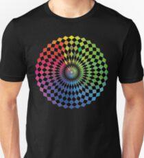 Geometric Design - Color Spectrum Difference Unisex T-Shirt