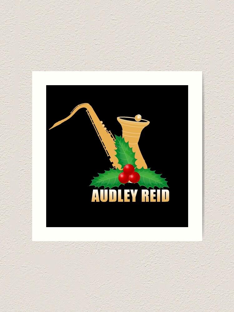 Alternate view of Audley Reid Christmas Wear-Black Art Print