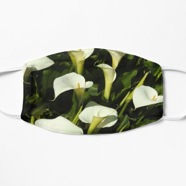 Nature, Wildflowers, Calla Lily Small Mask