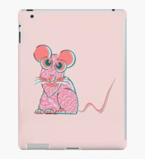 A Pink Mouse iPad Case/Skin