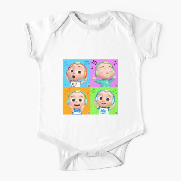Baby Nursery CocoMelon Music Collection 2020 Short Sleeve Baby One-Piece