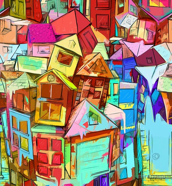 Little Houses by miranema