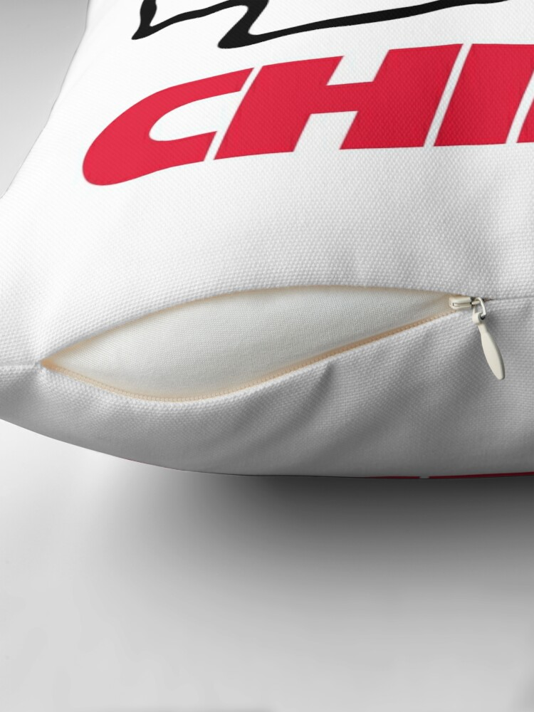 Alternate view of Chiefs-Kansas City Throw Pillow