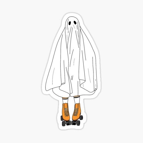Roller Ghost Sticker