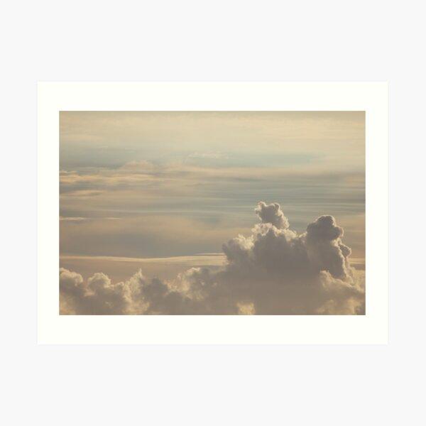 Dreamy Clouds Sky Art Print