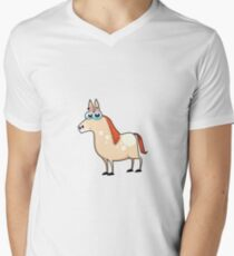 horse, animal farm Men's V-Neck T-Shirt