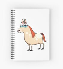 horse, animal farm Spiral Notebook
