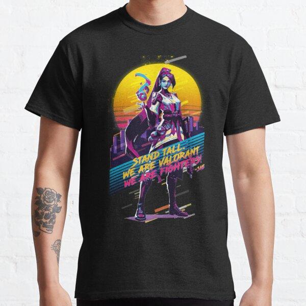 Valorant - Sage - Rétro années 80 T-shirt classique
