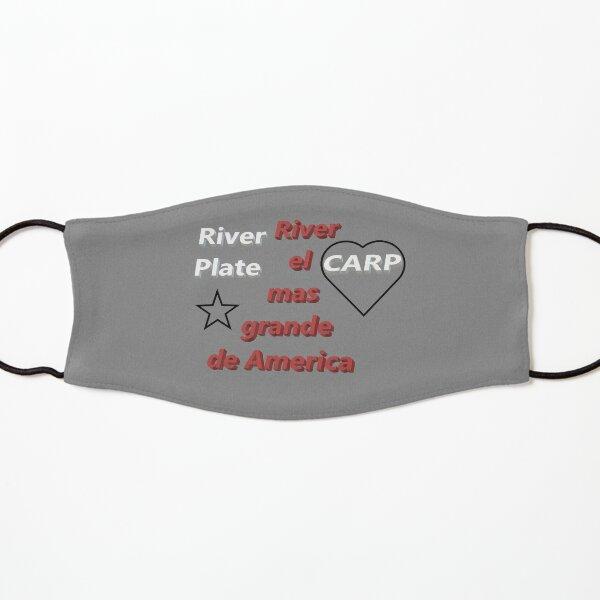 River Plate el mas grande Mascarilla para niños