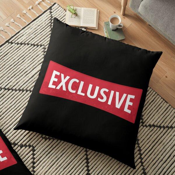 Exclusive Red Sticker Floor Pillow