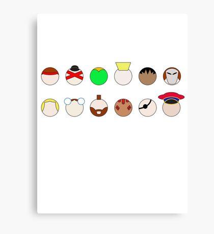 Player Select Canvas Print