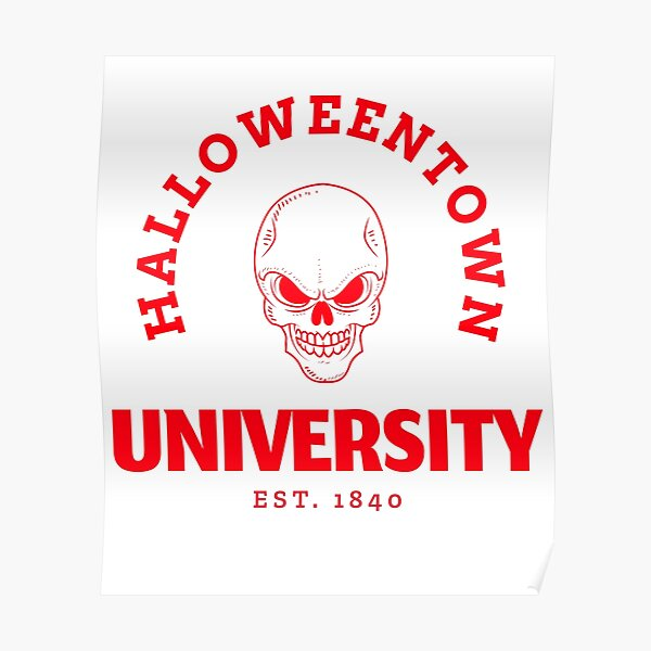 Halloweentown University Poster