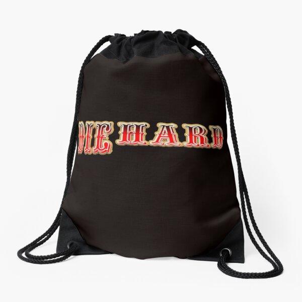 SF 49ers DIE HARD Drawstring Bag