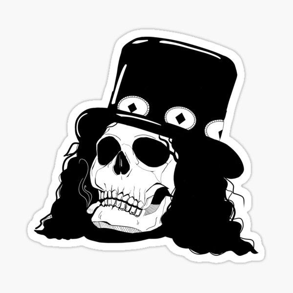 Cráneo de Slash Pegatina