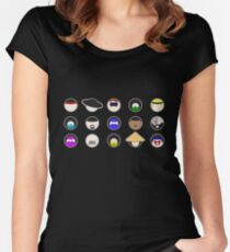 Choose Your Fighter  Women's Fitted Scoop T-Shirt
