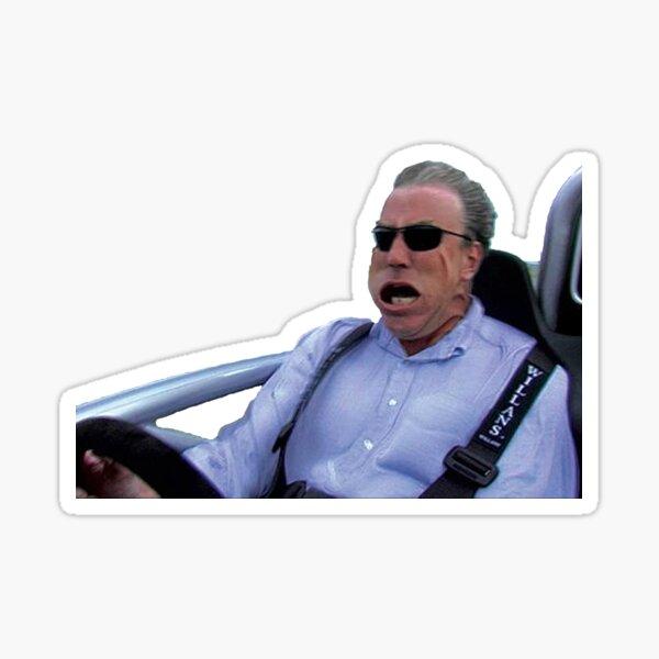 Bottom Gear Jeremy Clarkson Meme  Sticker