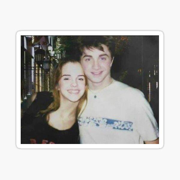 Daniel Radcliffe et Emma Watson Sticker