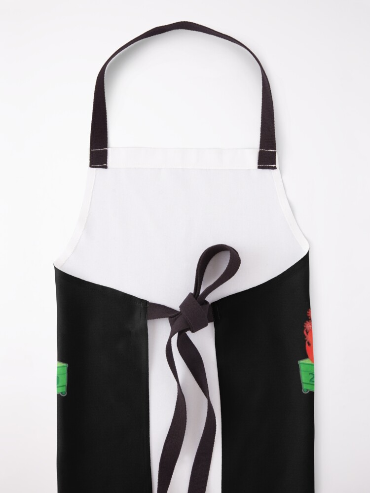 Alternate view of All is Well in COVID HELL Apron