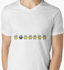 chicks animal farm Men's V-Neck T-Shirt