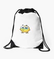 chick animal farm for kid Drawstring Bag
