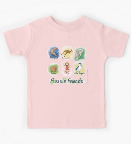 Me and My Aussie Friends - Girl Kids Clothes