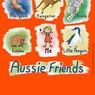 Me and My Aussie Friends - Girl by JumpingKangaroo