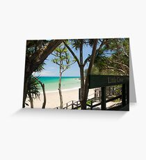 Little Cove, Noosa : Ocean Bliss Greeting Card