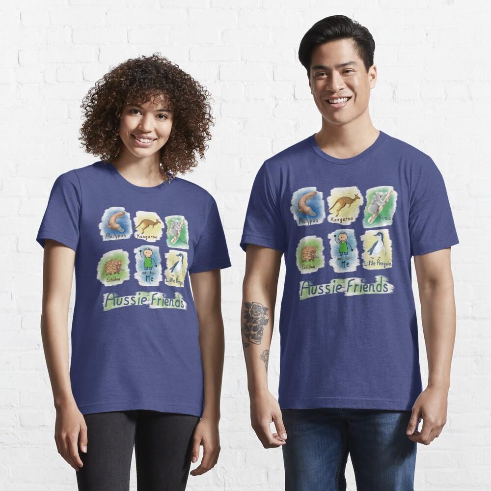 Me and My Aussie Friends - Boy Essential T-Shirt