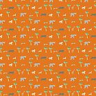 Pattern of The Darjeeling Limited & Hotel Chevalier by bonieiji