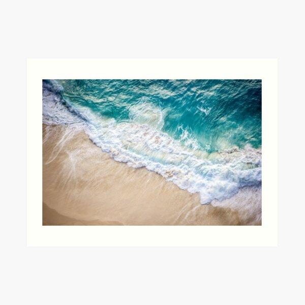 Ocean Beach Paradise Art Print