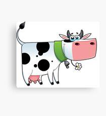cow animal farm for kid Canvas Print