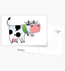 cow animal farm for kid Postcards