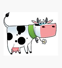 cow animal farm for kid Photographic Print