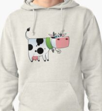 cow animal farm for kid Pullover Hoodie