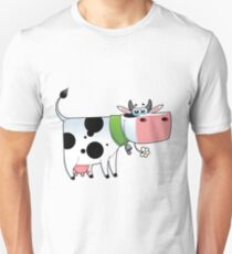 cow animal farm for kid Unisex T-Shirt