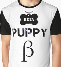 Beta Puppy Graphic T-Shirt