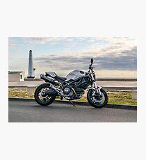 Ducati Monster 696 Photographic Print