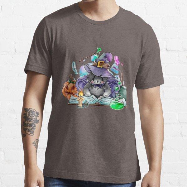 Magier Katze Aquarell Design Essential T-Shirt