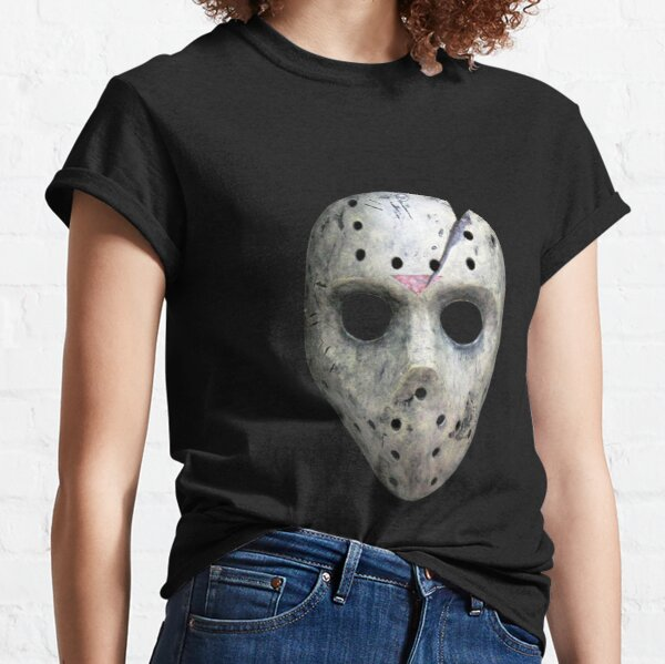 Scary Jason Voorhees Classic T-Shirt