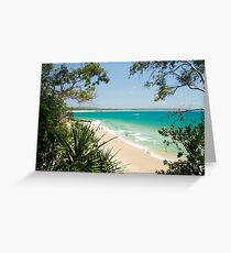 Luscious Little Cove : Bush to Beach Greeting Card