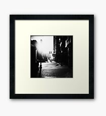 dreaming ties all mankind together Framed Print