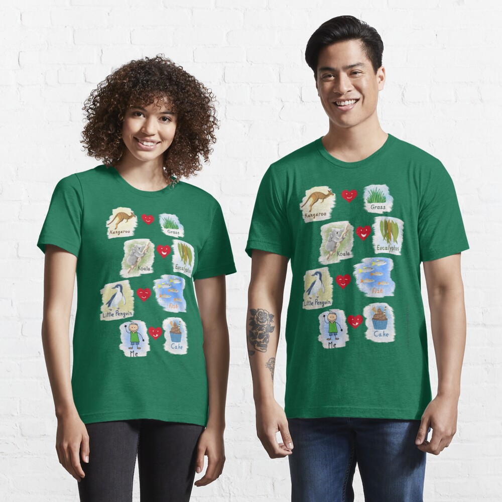 Aussie Friends love food - Boy Essential T-Shirt