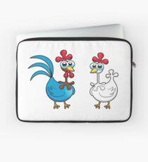 chicken animal farm and kid Laptop Sleeve
